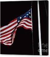 The Flag Of 1801 Canvas Print