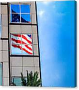 The Flag That Never Hides Canvas Print