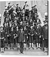 The Flatbush Boys' Club Band Canvas Print