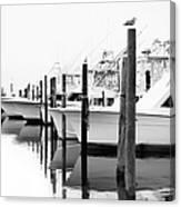 The Fleet Awaits - Outer Banks Canvas Print