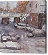 The Flour Mill Canvas Print