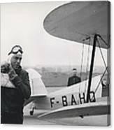 The Flying Ambassador Canvas Print