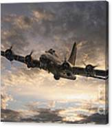 The Flying Fortress Canvas Print
