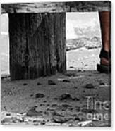The Foot Canvas Print