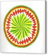 The Forest Mandala Canvas Print