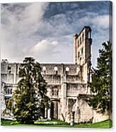 The Forgotten Abbey 2 Canvas Print