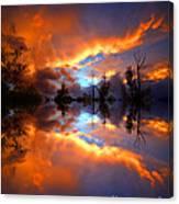 The Forgotten Sunset Canvas Print