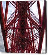The Forth Bridge Up Close And Personal Canvas Print