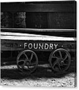 The Foundry Truck Canvas Print