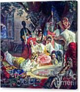 The Fountain Of Bakhchisarai Canvas Print