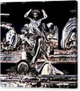 The Fountain Queen Canvas Print