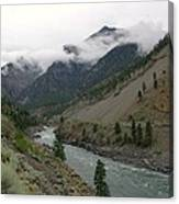 The Fraser River Canvas Print