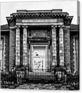 The Free Library Of Philadelphia - Manayunk Branch Canvas Print