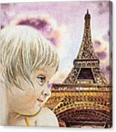 The French Girl Canvas Print