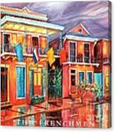 The Frenchmen Hotel New Orleans Canvas Print