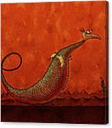 The Friendly Dragon Canvas Print