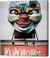 The Funhouse Canvas Print