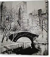 Bridge To The World Canvas Print