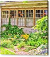 The Garden At Juniata Crossings Canvas Print