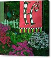 The Garden Canvas Print