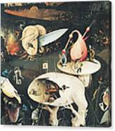 The Garden Of Earthly Delights Hell, Right Wing Of Triptych, C.1500 Oil On Panel See 322, 3425 Canvas Print
