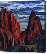 The Garden Of The Gods II Canvas Print