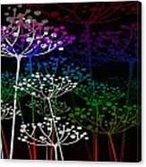 The Garden Of Your Mind Rainbow 2 Canvas Print
