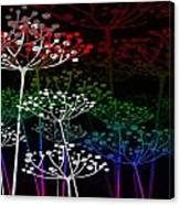The Garden Of Your Mind Rainbow 3 Canvas Print
