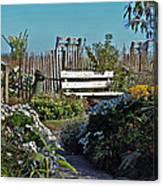 The Garden Path Canvas Print