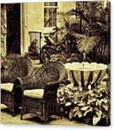 The Garden Room Canvas Print