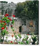 The Garden Tomb. East Jerusalem. Canvas Print