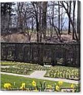 The Gardens At Biltmore Estate II Canvas Print