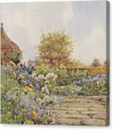 The Gardens At Chequers Court Canvas Print