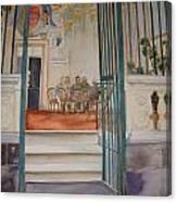 The Gate Keeper Canvas Print