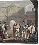 The Gate Of Calais, Or O The Roast Beef Canvas Print