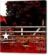 The Gate To Texas  Canvas Print