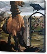 The Gatekeeper Canvas Print
