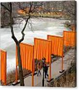 The Gates In Central Park Canvas Print