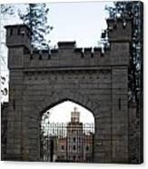 The Gates Leading Into New Sigulda Castle Canvas Print