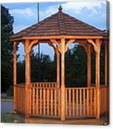 The Gazebo Canvas Print