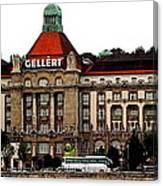 The Gellert Hotel Canvas Print