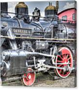 The General II Train Engine Canvas Print