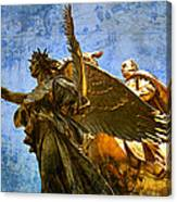 The Generals Golden  Angel Canvas Print