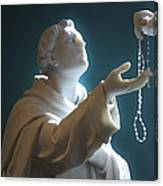 The Gift Of A Rosary Canvas Print