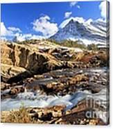 The Glacier Rush Canvas Print