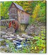 The Glade Grist Mill Canvas Print