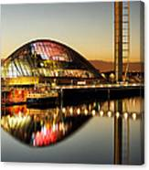 The Glasgow Science Centre Canvas Print