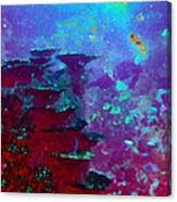 The Glimmering Deep Canvas Print