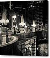 The Glow Over The River Canvas Print