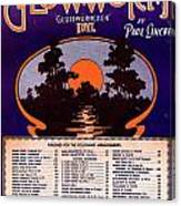 The Glowworm Canvas Print